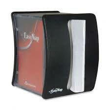 easy nap Napkin Dispenser in Black