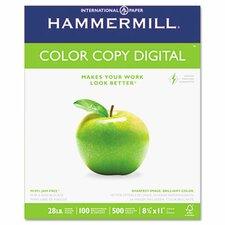 Color Copy Paper, 100 Brightness, 28Lb, 8-1/2 X 11, 500/Ream