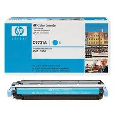 C9731A OEM Toner Cartridge, 12000 Page Yield, Cyan