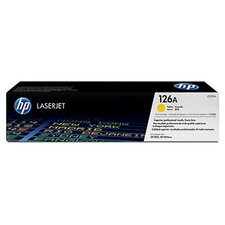CE312A OEM Toner Cartridge, 1000 Page Yield, Yellow
