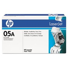 CE505A OEM Toner Cartridge, 2300 Page Yield, Black