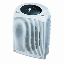Holmes® with ALCI 1,500 Watt Portable Electric Fan Compact Heater with Auto Shut-Off