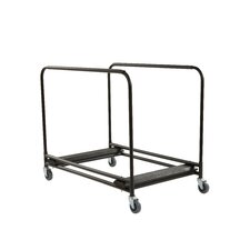 """1"""" x 60"""" x 30"""" Round Table Cart"""