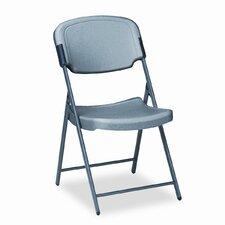 Rough 'n' Ready Mid-Back Polyethylene Folding Office Chair