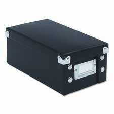 Snap-N-Store Snap 'N Store Collapsible Index Card File Box Holds 1,100 3 X 5 Cards
