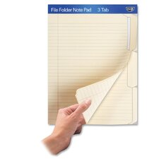File Folder Note Pad