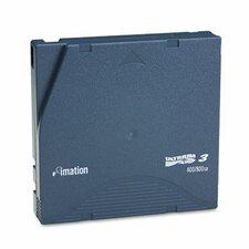 "1/2"" LTO-3 Data Cartridge, 2200ft, 400GB Native/800GB Compressed Data Capacity"