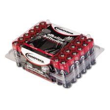 Alkaline Battery, 48/Pack