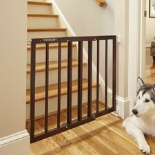 Easy Walk-Thru Wooden Safety Gate