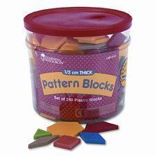 Pattern Blocks, Grades Pre-K and Up