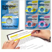 Removable Highlighter Tape Yellow (Set of 2)