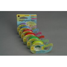 Removable Highlighter Tape Blue (Set of 2)