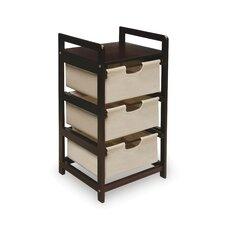 3 Drawer Hamper & Storage Unit