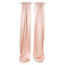 Madison Rod Pocket Drape Panels (Set of 2)