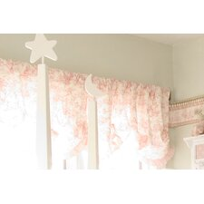 "Isabella Rod Pocket Ruffled 96"" Curtain Valance"