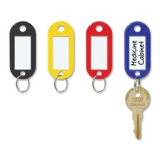 Multi-colored Replacement Key Tag (4 per pack) (Set of 3)
