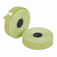Pricemarker One-Line Label, 2 Rolls/Pack