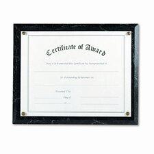 Award-A-Plaque Document Holder