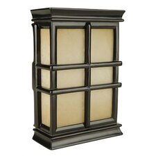 Hand Carved Scroll Cabinet Door Chime in Matte Black