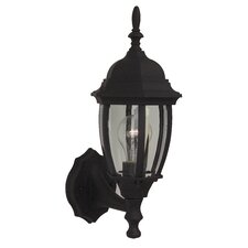 Bent Glass 1 Light Wall Lantern