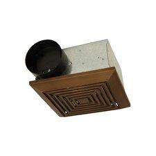 50 CFM Bathroom Ventilation Fan in Bronze