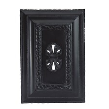 Hand Carved Wireless Door Chime in Matte Black
