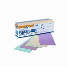 Blank Flash Card Dispenser Boxes, 3 x 9, 250/pack