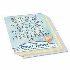 Chart Tablet, 25 Sheets/Pad