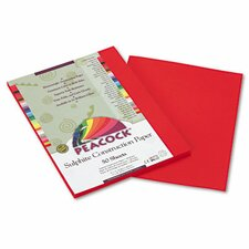 Peacock Sulphite Construction Paper, 9 x 12 (Set of 3)