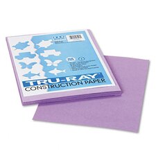 Tru-Ray Construction Paper, 76 Lbs, 50 Sheets/Pack (Set of 3)
