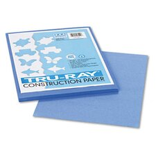 Tru-Ray Construction Paper, 76 Lbs., 9 X 12, 50 Sheets/Pack (Set of 3)
