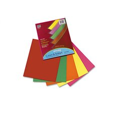 Array Colored Bond Paper, 20lb, Letter, Assorted, 100 Sheets/Pack