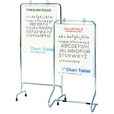 Adjustable Free-Standing Whiteboard, 5' x 2'