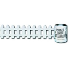 Picket Fence Roll White