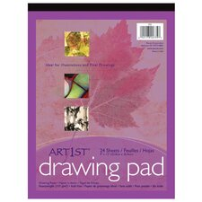Art1st Drawing Pad 9x12 24 Sht Wht (Set of 2)