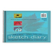 Art1St Sketch Diary, 70 Sheets/Pad (Set of 2)