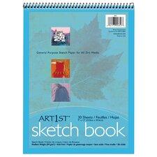 30 Sheet Medium Weight Sketch Book