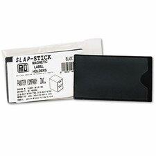 Slap-Stick Magnetic Label Holder, Side Load, 10/Pack
