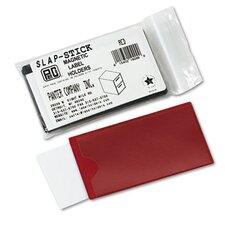 Slap-Stick Magnetic Label Holder, Side Load, 4-1/4 X 2-1/2, 10/Pack