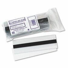 Magnetic Label Holder, Side Load, 6 X 2, 10/Pack