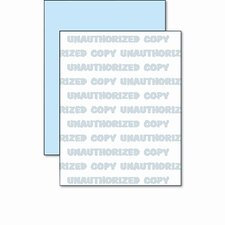 DocuGard Security Paper, Blue, 8-1/2 x 11, 500 Sheets