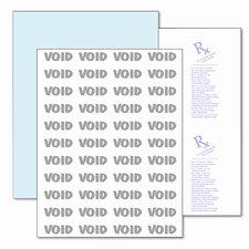 DocuGard Prescription/Medical Security Paper, 8 1/2 x 11, Blue, 500 Sheets/RM