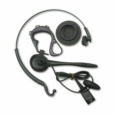 Duoset Monaural Convertible Headset with Noise Canceling Microphone