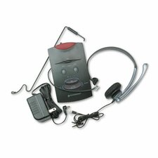 System Over-The-Head Telephone Headset with Noise Canceling Microphone