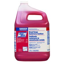 Clean Quick Broad Range Quaternary Sanitizer with Test Strips