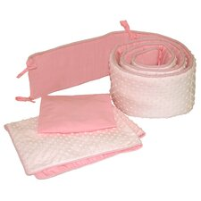 Dimple Velour 3 Piece Cradle Bedding Set