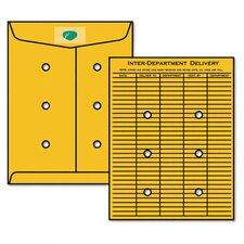 Kraftresealable Redi-Tac Interoffice Envelope, 100/Box