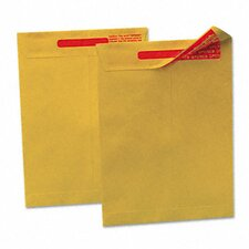 Reveal-N-Seal Catalog Envelope, 10 X 13, Light Brown, 100/box