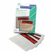 Top-Print Self-Adhesive Packing List Envelope, 100/Box