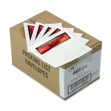 Top-Print Self-Adhesive Packing List Envelope, 1000/Carton
